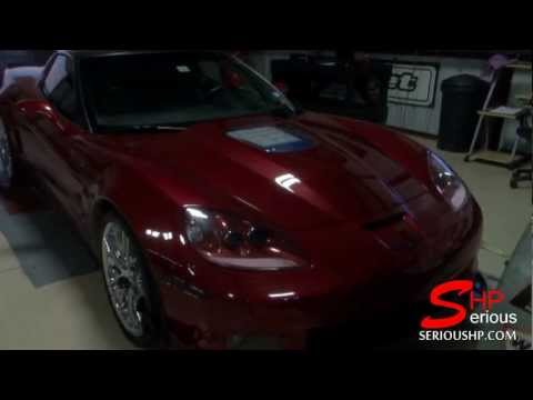 ZR1 Corvette Chevy Stock Dyno Pull 557 rwhp More upgrade soon...