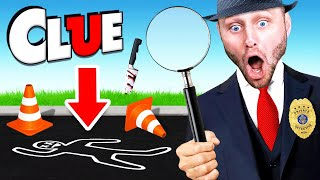 SOLVING The MURDER MYSTERY! (Clue: Mystery Game)