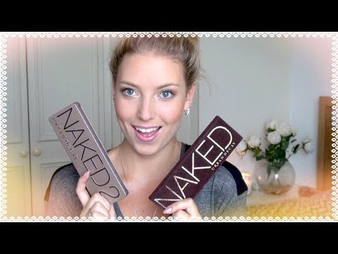 Urban Decay Naked VS Naked 2 ♡ Review + Comparison!!