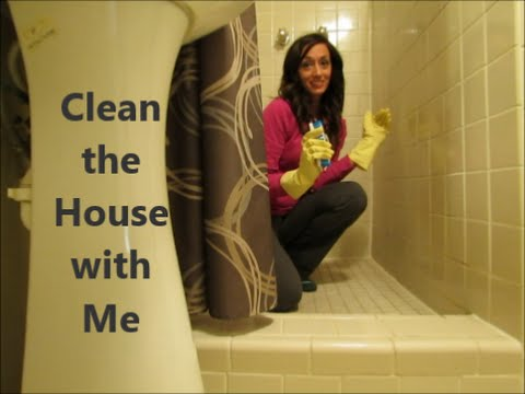 Clean the house with me vlog cleaning motivation youtube - What do i need to clean my bathroom ...