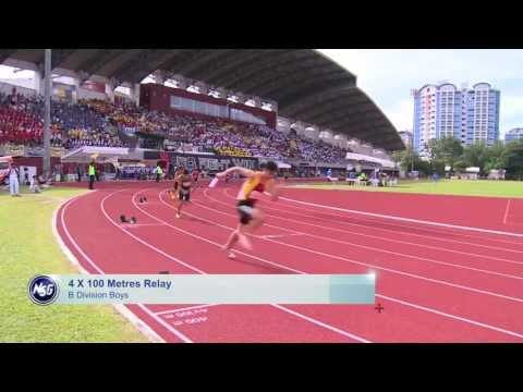 Singapore Sports School dominates in track and field championships