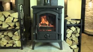 FIREFLAME Brunswick (10kW) wood burning & multifuel stove