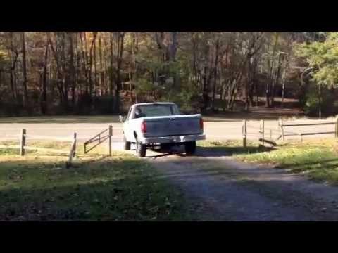 Ford F-150 true dual glasspack flyby