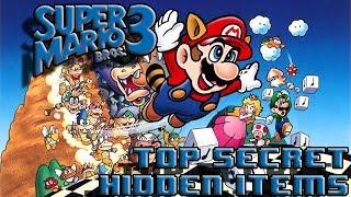 Super Mario Bros 3 - Hidden Secrets and King Messages