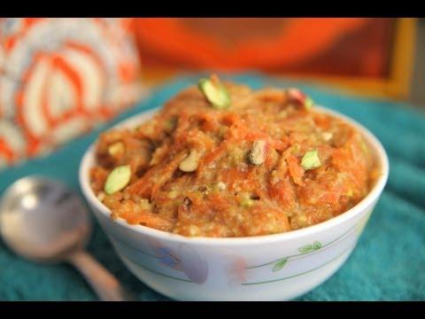 Vegan Gajar Halwa (Carrot Pudding) By Rithika