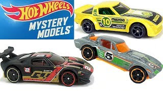 Hot Wheels Mystery Models Cars Collection Grand Sport Corvett FORD GT Mazda RX 7 DAY 9