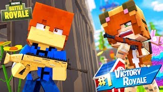 Minecraft Daycare - FORTNITE BATTLE !? (Minecraft Roleplay)