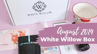 White Willow Box Review August 2019: Lifestyle Subscription Box