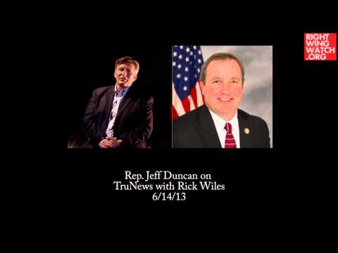 Rep. Jeff Duncan Agrees Congress Should Investigate Obama's 'Phony Identification Papers'