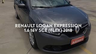Renault Logan Expression 1.6 16V SCe (Flex) 2018  R$ 39.960,00