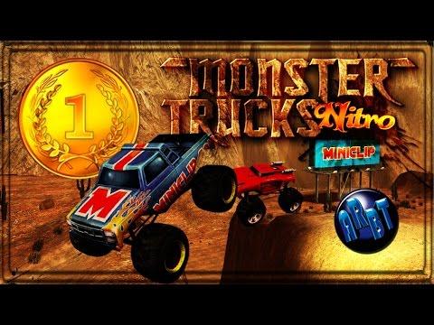Monster Trucks + Stunts = ME GUSTA