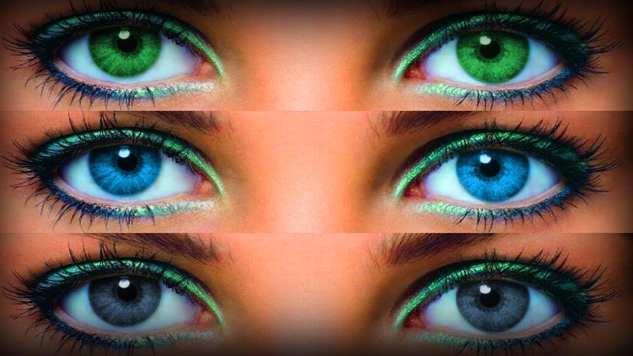 Как изменить цвет глаз домашних условиях