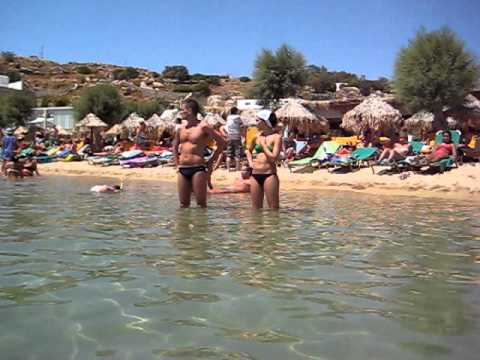 Mykonos swimming.AVI