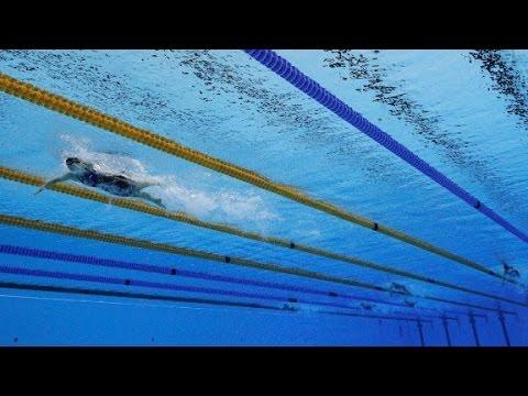 Ledecky crushes rivals, wins gold medal