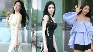 TikTok China l Thời trang đường phố của các cô gái Trung Quốc #10[ Douyin / Street style ]