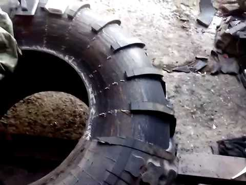 Разбортовка грузового колеса своими руками