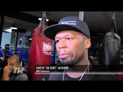 0 - Boxing: On the Scene: Gamboa & 50 Cent in LA - Boxing and Boxers