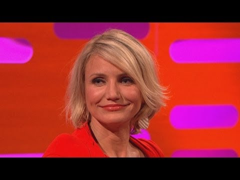 CAMERON DIAZ: My Amazing Fake Breasts! (The Graham Norton Show)