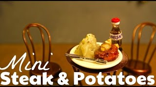 MINI STEAK & POTATOES!