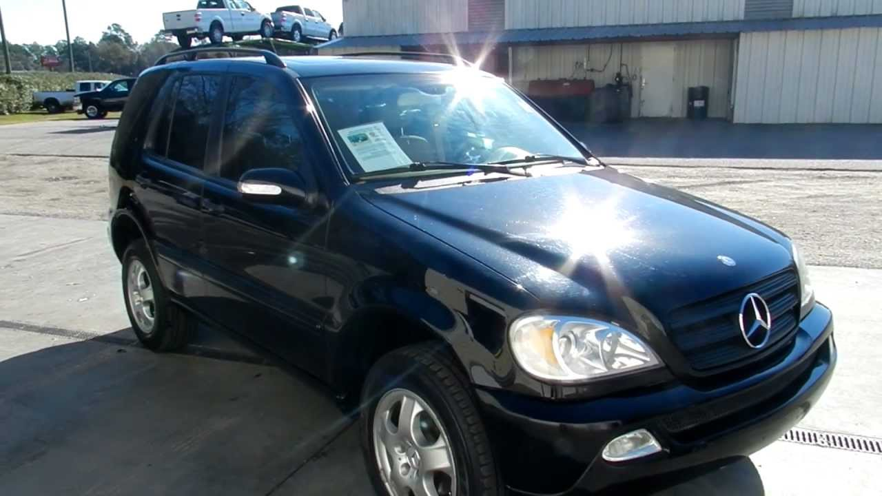 2002 mercedes benz ml320 leather loaded low miles for for Mercedes benz ml 2002