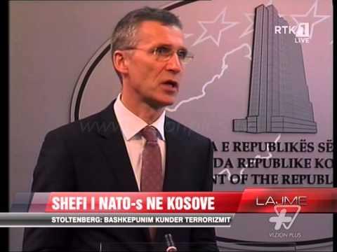 Stoltenberg: Bashkëpunim kundër terrorizmit - News, Lajme - Vizion Plus