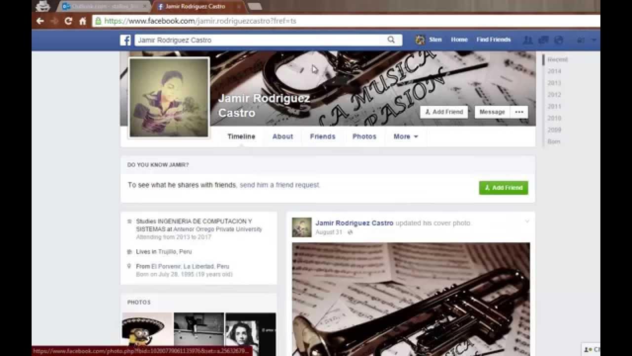 Facebook Fotos Sin Ser Amigos en Facebook Sin Ser Amigo