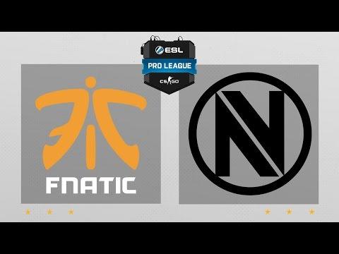 CS:GO - Fnatic vs. EnVyUs [Train] Map 2 - ESL Pro League Season 5 - EU Matchday 14