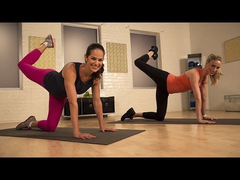 6-Minute Look Good in Your Leggings Workout | POPSUGAR Training Club