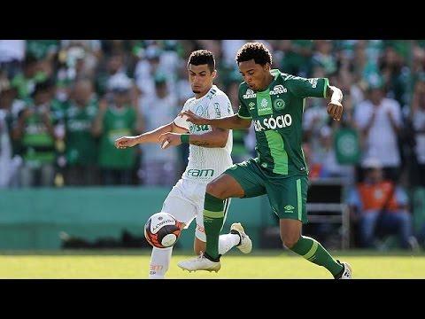 Raw emotions as Brazilian football club Chapecoense play first match since plane crash tragedy