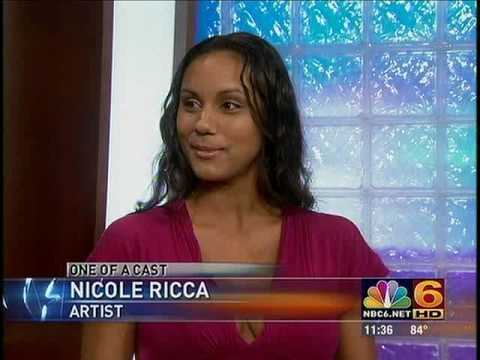 Nicole Ricca (Belly Casting) Channel 6 News Interview