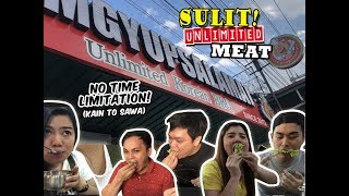 Sulit! unlimited MEAT w/ NO Time Limit at SamgyupSALAMAT