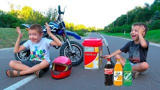Kids Ride on Dirt Cross Bike \ Childrens Power Wheels Toy \ Kidsococo Club Family Fun