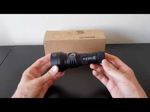 Manker U21 (XHP35 HI. 1x26650) flashlight review. by selfbuilt