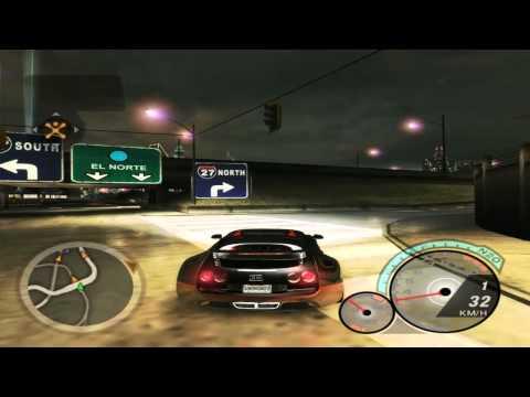 Bugatti Veyron 400km/h - Nfs Underground 2