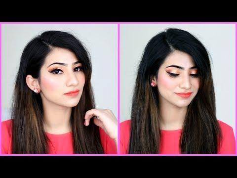 मेकअप कैसे करें - Valentines Day Makeup Tutorial for Beginners | Anaysa