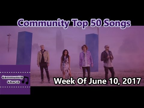 Community Top 50 Songs - Week Of June 10, 2017