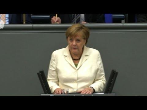 Merkel tells UK 'no cherry-picking' in future talks