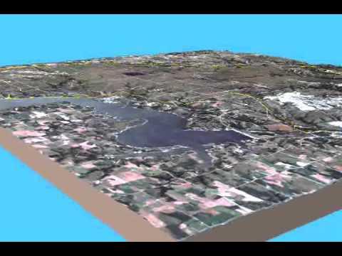 Geo-Flythrough of Fort Riley, Kansas