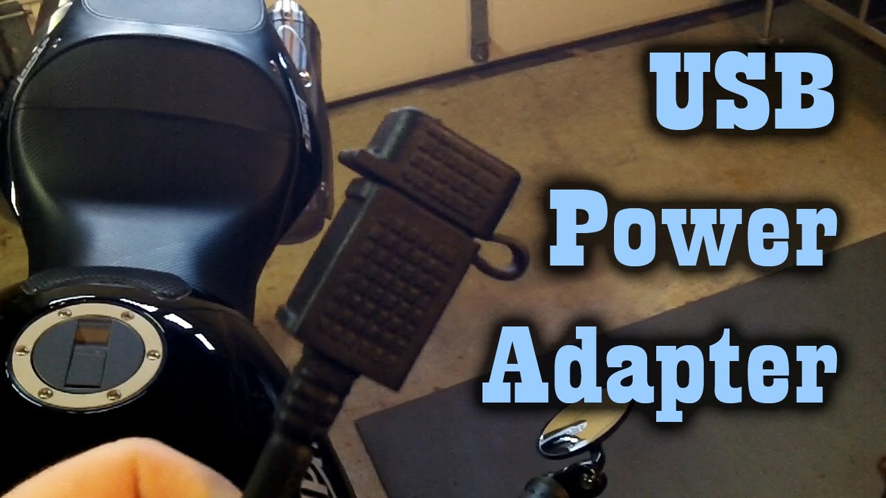 Installing Usb Power Adapter On My Motorcycle Triumph
