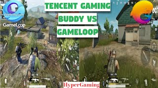 GameLoop Vs Tencent Gaming Buddy Which Is best For PUBG Mobile | PUBG MOBILE Benchmark Test