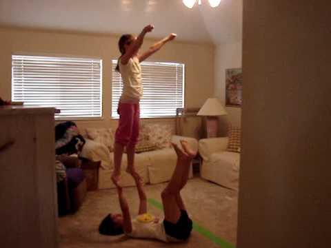 Partner Stunts For Beginners Partner Stunts