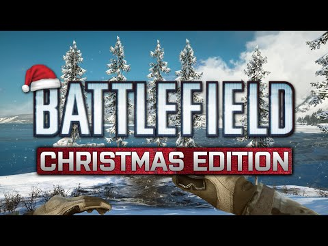 Battlefield 4 Christmas Edition - Delivering Presents, Glitched Sleigh, Epic C4, 360 Tank Kills