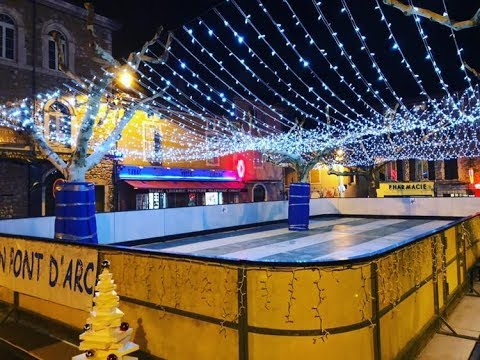 TV07 : Le traditionnel marché de Noël est de retour à Vallon Pont d'arc !
