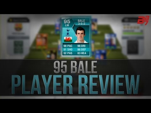 FIFA 13 Ultimate Team   Player Review   95 BALE PLAYER CARD