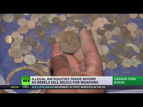 3000yr-old artifacts for arms: Syria's history buying bullets and bombs