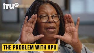 """The Problem with Apu - Whoopi Goldberg on Minstrelsy and Her Collection of """"Negrobilia"""" 