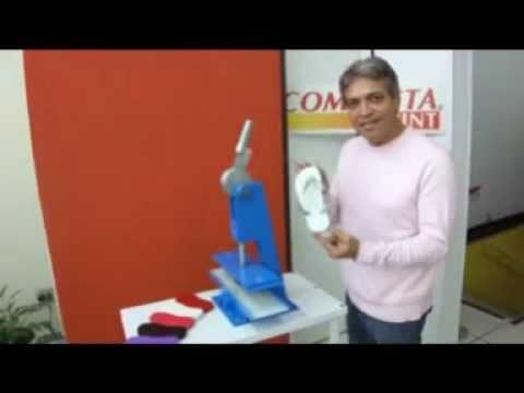 Compacta Print — Máquina de Fazer Chinelos