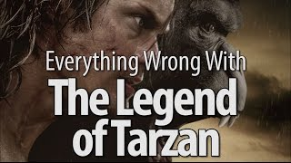 Everything Wrong With The Legend of Tarzan by : CinemaSins