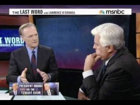 Jay Leno Interview With Lawrence O'Donnell, Political Views, Obama PART 1 - August 6, 2013