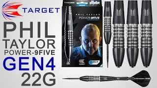Phil Taylor Power-9FIVE generation 4 22g